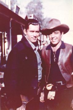 Clint Walker and Fred Carson