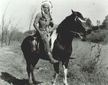 Fred Carson as Chief Thunderhawk in Charge At Feather River