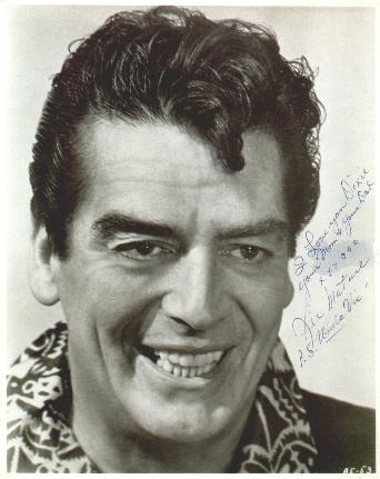 Dixie's Autographed Photo of Victor Mature